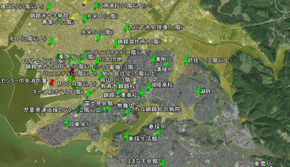 浦安 市 ハザード マップ